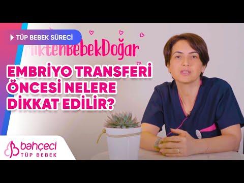 Embriyo Transferi Öncesi Nelere Dikkat Etmelisiniz? – Bahçeci Tüp Bebek Merkezi