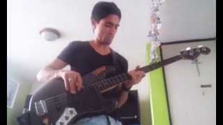 Iron Butterfly - Real fright bass cover