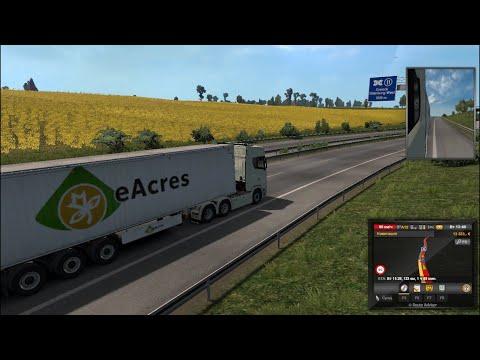 I play Euro Truck Simulator 2 translate potatoes