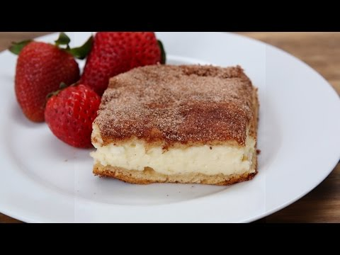 Cinnamon Sugar Cheesecake Bars