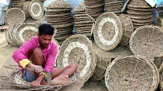 टोकरे वाला Making टोकरा💕BASKET MAKING💕villager life💕village life of Punjab/India/Rural punjab
