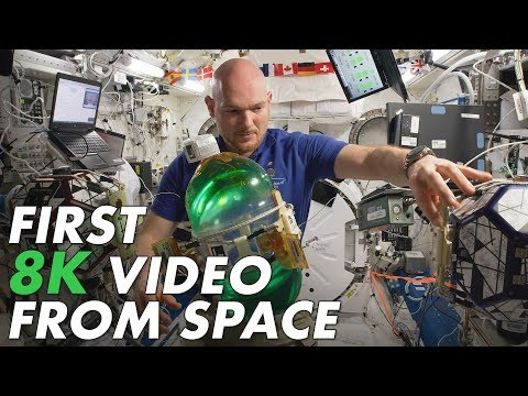 What Space Looks Like in 8K