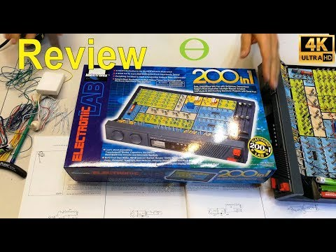 Review of the Maxitronix 200 in 1 electronics kit.