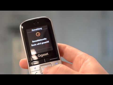 Gigaset SL400 Mobilteil anmelden