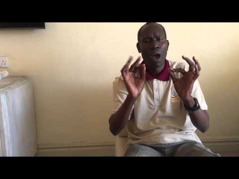 Image of the video: Interview with Habel Ouma