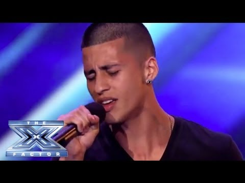 """Carlito Olivero - Rocks the Crowd with Cover of Rihanna's """"Stay"""" - THE X FACTOR USA 2013"""