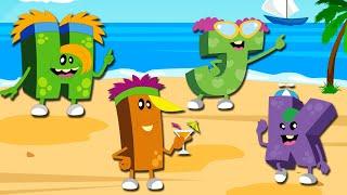 Learn with Monster Alphabet | ABC Monsters Academy | Learn ABC | Learn the English Alphabet
