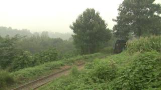 preview picture of video 'Xingyang brickworks railway in the rain! (Part 1) (HD)'