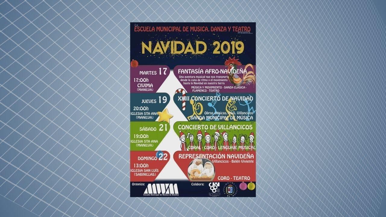 LA ESCUELA DE MÚSICA, DANZA Y TEATRO PRESENTA:NAVIDAD 2019