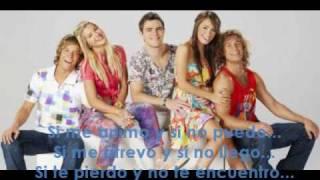 Cual - Teen Angels (Casi Angeles 2009) con letra