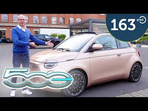 2021 Fiat 500e ICON Cabrio - Im Test von 163 Grad
