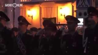 Репетиция парада Победы в Казани: исполнение гимнов