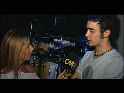 Abel Pintos video Previa show Trastienda  - Entrevista CM | 2008
