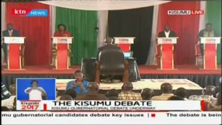 Christine Atieno responds to the issue of making it easy for people to do business,The Kisumu debate