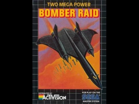 Bomber Raid - Sega Master System HD 60 fps
