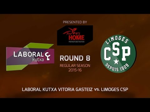 Highlights: RS Round 8, Laboral Kutxa Vitoria Gasteiz 92-56 Limoges CSP