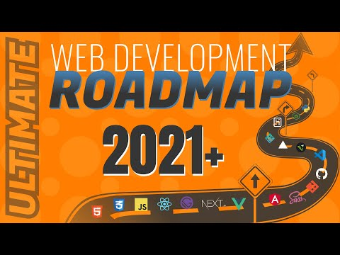 Web Developer Roadmap 2021 | A Guide To Starting A Career In Web Development