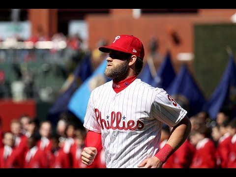 7c3e9210 Phillies' Bryce Harper talks about Opening Day debut