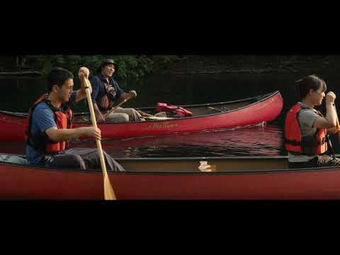 lake shikotsu flying canoe