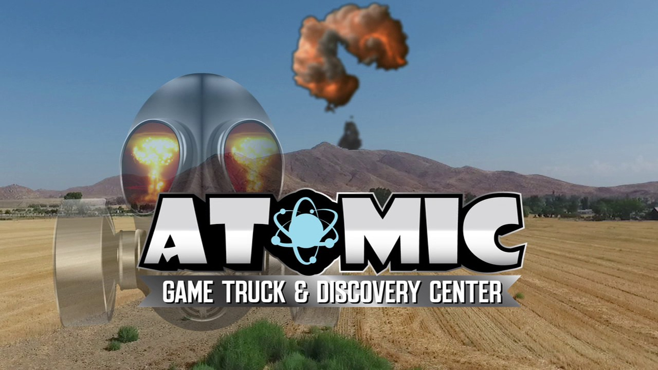 Atomic Game Truck Fly By
