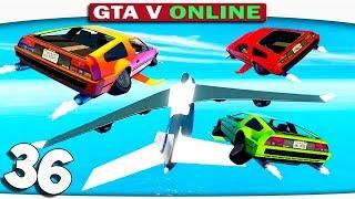 ч.36 НЛО МАШИНЫ!! ИСПЫТАНИЕ ДЛЯ НАСТОЯЩИХ БРО!! - Один день из жизни в GTA 5 Online