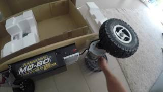 Mo Bo Skateboard Unboxing deutsch + Testfahrt