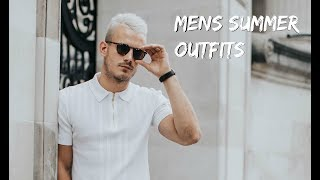 MENS SUMMER OUTFITS | 4 Smart Casual Looks For Summer 2018 | Charlie Irons