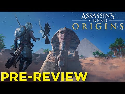 Assassin's Creed Origins PRE-REVIEW — 30 Minutes of Gameplay & Impressions!