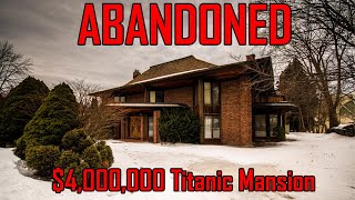 Exploring A $6,000,000 Abandoned Mansion | Abandoned Mansions | Urban Exploring with Freaktography