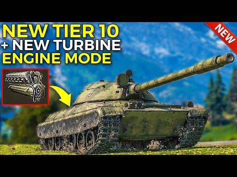 New CS-63 + New TURBINE Engine Mode! | World of Tanks CS-63 Gameplay