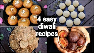 Diwali Sweets & Snacks Recipes | Diwali Recipes Collection | Instant & Easy Deepavali Recipes