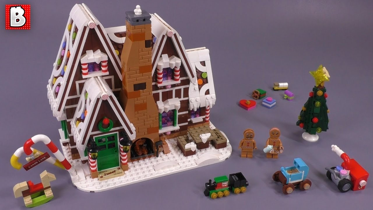 LEGO Gingerbread House Set 10267 Review!
