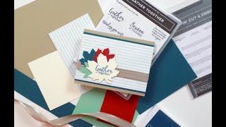 Gather Together Greeting Card | Stampin Up