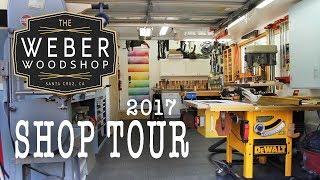The Ultimate One-Car Garage Woodshop Tour!
