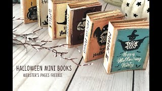 Mini Books-Websters Pages Freebie