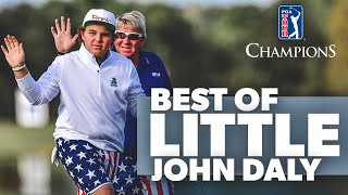 Best of John Daly's son over the years