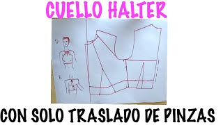 Blusa Cuello Halter ( Parte 1 Trazado)