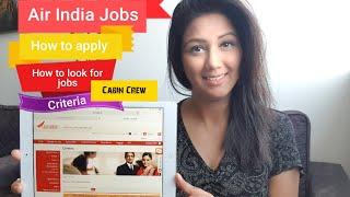 Air India Jobs & How to apply Mamta Sachdeva Cabin Crew