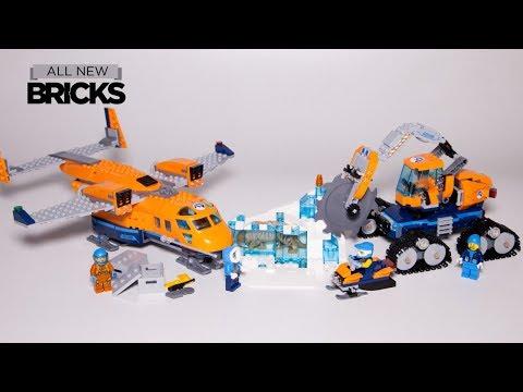 Vidéo LEGO City 60196 : L'avion de ravitaillement arctique