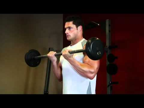 Close-Grip Standing Barbell Curl
