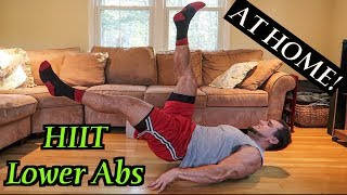 Intense Tabata At Home Lower Ab Workout (HIIT) #2 by Anabolic Aliens