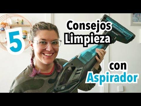 5 TRUCOS DE LIMPIEZA | Orden y Limpieza en el Hogar con Aspiradora | OPINION CONGA ERGOEXTREME