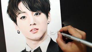 Drawing JUNGKOOK 전정국 [BTS] [방탄소년단]