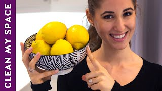 10 Useful Things You Can Clean with Lemon: Cleaning Ideas to Save Time & Money (Clean My Space)