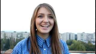 Вероника Никитина. милая девушка с прикольным голосом