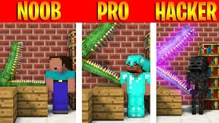 MONSTER SCHOOL : NOOB VS PRO VS HACKER BRAVE CHALLENGE