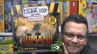 Escape Room - Das Spiel Jumanji (Noris) - kann es mit Exit mithalten? - ab 10 Jahre