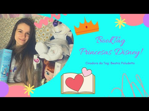 BOOKTAG PRINCESAS DISNEY | EDUDA