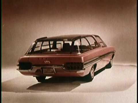 Ford tasarım ofisinin 1960'lı yıllardaki denemeleri