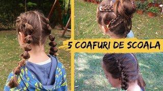 5 Coafuri Potrivite Pentru Școală